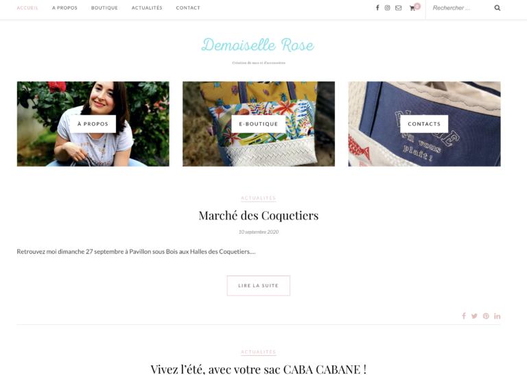 Demoiselle rose - 2019